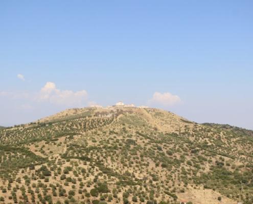 Forte da Graça - vista do Castelo de Elvas