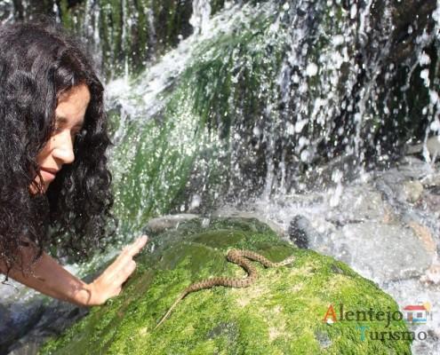 Cascata das cobras – Praia da Amália – Concelho de Odemira - Alentejo