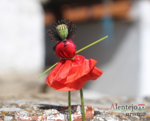 Papoila - boneca - brinquedos do Alentejo