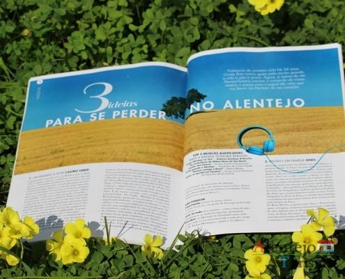 AlentejoTurismo e Guida Brito destacados na Revista Activa.