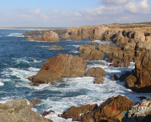 Passadiço da Costa do Norte (Sines); Alentejo; Portugal.