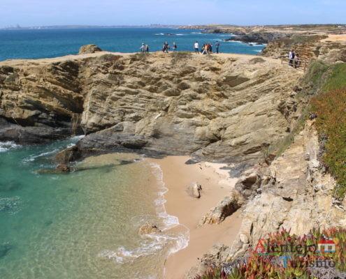 Baía, cabo e praia - Praia da Gaivota