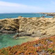 Baía e cabo - Praia da Gaivota