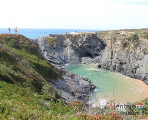 Praia abrigada do vento - Praia do Espingardeiro